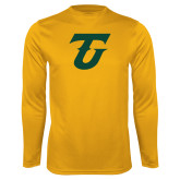 Performance Gold Longsleeve Shirt-Athletic TU