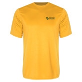 Performance Gold Tee-TU with Tiffin Universrity Horizontal