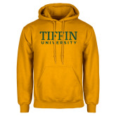 Gold Fleece Hoodie-Tiffin University