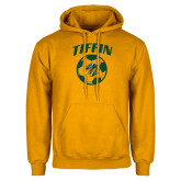 Gold Fleece Hoodie-Dragons Soccer