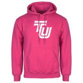 Fuchsia Fleece Hoodie-University TU