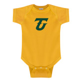 Gold Infant Onesie-Athletic TU