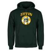 Dark Green Fleece Hood-Dragons Soccer