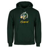 Dark Green Fleece Hood-Alumni