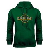 Dark Green Fleece Hood-Homecoming 2016
