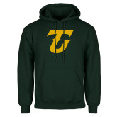Dark Green Fleece Hood-Athletic TU