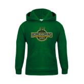 Youth Dark Green Fleece Hoodie-Homecoming 2016