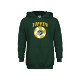 Youth Dark Green Fleece Hoodie-Dragons Soccer