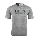 Performance Grey Heather Contender Tee-Tiffin University