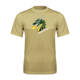 Performance Vegas Gold Tee-Dragon with Text