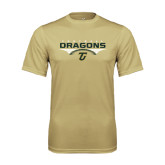 Performance Vegas Gold Tee-Football with Wings