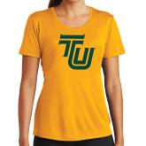 Ladies Syntrel Performance Gold Tee-University TU