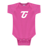 Fuchsia Infant Onesie-Athletic TU