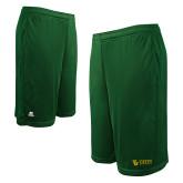 Russell Performance Dark Green 10 Inch Short w/Pockets-TU with Tiffin Universrity Horizontal