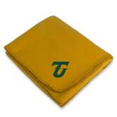 Gold Arctic Fleece Blanket-Athletic TU