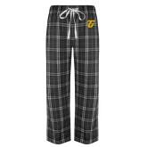 Black/Grey Flannel Pajama Pant-Athletic TU