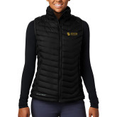 Columbia Lake 22 Ladies Black Vest-TU with Tiffin Universrity Horizontal