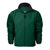 Dark Green Survivor Jacket-Primary Logo