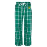Green/White Flannel Pajama Pant-Athletic TU