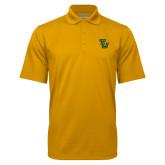 Gold Mini Stripe Polo-University TU