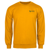 Gold Fleece Crew-TU with Tiffin Universrity Horizontal