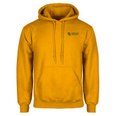 Gold Fleece Hoodie-TU with Tiffin Universrity Horizontal