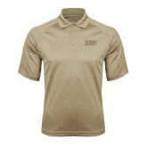 Vegas Gold Textured Saddle Shoulder Polo-Tiffin University