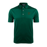 Dark Green Dry Mesh Polo-Primary Logo