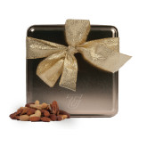 Deluxe Nut Medley Gold Medium Tin-Primary Logo Engraved