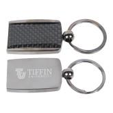 Corbetta Key Holder-TU with Tiffin Universrity Horizontal Engraved
