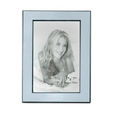 Silver Two Tone 5 x 7 Vertical Photo Frame-Tiffin University Engraved
