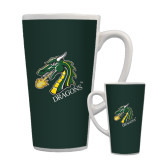 Full Color Latte Mug 17oz-Dragon with Text