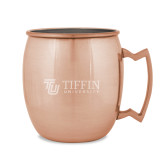 Copper Mug 16oz-TU with Tiffin Universrity Horizontal Engraved