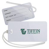 Luggage Tag-TU with Tiffin Universrity Horizontal