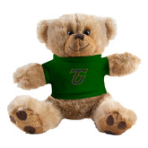 Plush Big Paw 8 1/2 inch Brown Bear w/Dark Green Shirt-Primary Logo