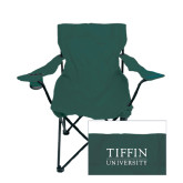Deluxe Green Captains Chair-Tiffin University