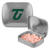 Silver Rectangular Peppermint Tin-Athletic TU