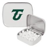 White Rectangular Peppermint Tin-Athletic TU