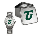 Ladies Stainless Steel Fashion Watch-Athletic TU