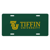 License Plate-TU with Tiffin Universrity Horizontal