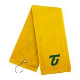 Gold Golf Towel-Athletic TU