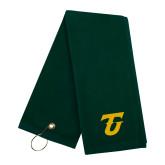 Dark Green Golf Towel-Athletic TU