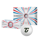 Callaway Supersoft Golf Balls 12/pkg-Primary Logo