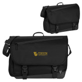 Metro Black Compu Brief-TU with Tiffin Universrity Horizontal