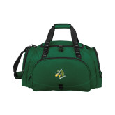 Challenger Team Dark Green Sport Bag-Dragon with Text