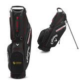 Callaway Hyper Lite 3 Black Stand Bag-TU with Tiffin Universrity Horizontal