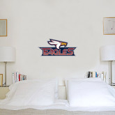 1.5 ft x 3 ft Fan WallSkinz-Eagle Head w/ Eagles