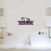 1.5 ft x 3 ft Fan WallSkinz-Eagle Head w/ Eagles