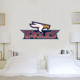 6 in x 1 ft Fan WallSkinz-Eagle Head w/ Eagles