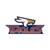 Small Decal-Eagle Head w/ Eagles, 6 inches wide